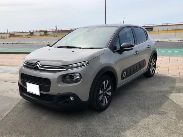 沖縄の中古車 シトロエン C3 車両価格 195万円 リ済別 2018(平成30)年 1.5万km グレーII