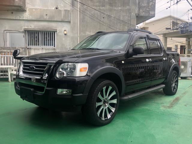 沖縄の中古車 フォード エクスプローラー 車両価格 ASK リ済別 2008(平成20)年 4.9万km ブラック