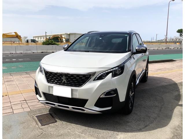 沖縄の中古車 プジョー 3008 車両価格 380万円 リ済別 2020(令和2)年 90km ホワイト