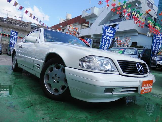 沖縄県の中古車ならM・ベンツ SL320 左ハンドル ディーラー車 パワーシート