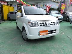 沖縄の中古車 日産 オッティ 車両価格 26万円 リ済込 平成24年 10.2万K ホワイト