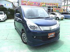 沖縄の中古車 スズキ ソリオ 車両価格 49万円 リ済込 平成23年 8.0万K ダークブルー