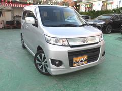 沖縄の中古車 スズキ ワゴンRスティングレー 車両価格 58万円 リ済別 平成21年 9.2万K シルバー
