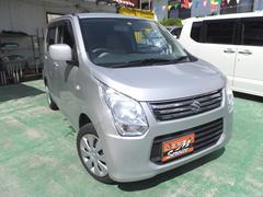 沖縄の中古車 スズキ ワゴンR 車両価格 39万円 リ済別 平成25年 10.2万K シルバー