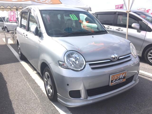 沖縄の中古車 トヨタ シエンタ 車両価格 48万円 リ済別 2009(平成21)年 8.8万km シルバー