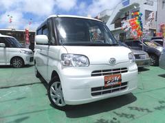 沖縄の中古車 ダイハツ タント 車両価格 38万円 リ済別 平成25年 9.9万K ホワイト