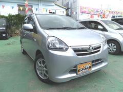 沖縄の中古車 ダイハツ ミライース 車両価格 37万円 リ済別 平成25年 8.8万K シルバー
