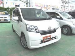 沖縄の中古車 ダイハツ ムーヴ 車両価格 41万円 リ済別 平成25年 8.2万K ホワイト