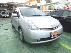 沖縄の中古車 トヨタ プリウス 車両価格 55万円 リ済別 平成19年 6.9万K シルバー