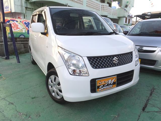 沖縄の中古車 スズキ ワゴンR 車両価格 49万円 リ済込 2011(平成23)年 8.8万km ホワイト
