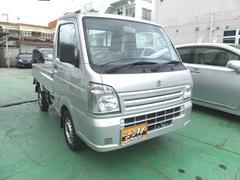 沖縄の中古車 スズキ キャリイトラック 車両価格 42万円 リ済込 平成26年 11.1万K シルバー