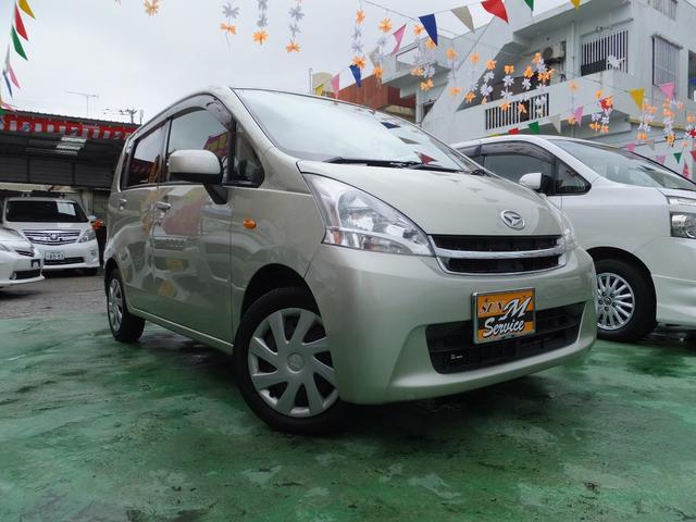 沖縄の中古車 ダイハツ ムーヴ 車両価格 42万円 リ済込 平成23年 9.5万km ゴールド