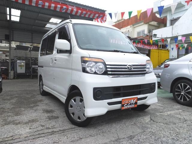 沖縄の中古車 ダイハツ アトレーワゴン 車両価格 53万円 リ済別 平成24年 9.9万km ホワイト