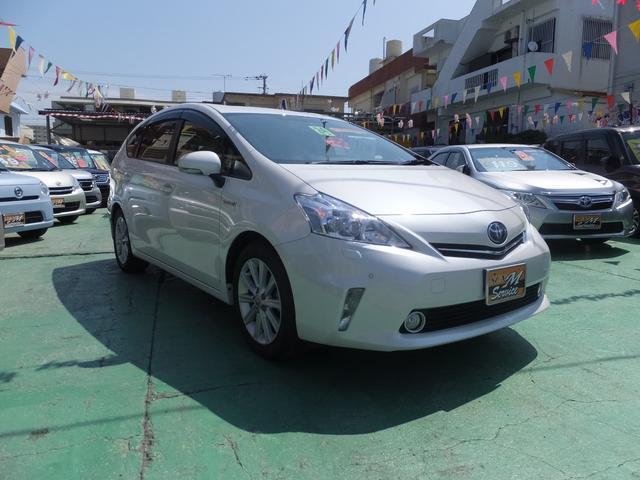 沖縄県の中古車ならプリウスアルファ G 7名乗り