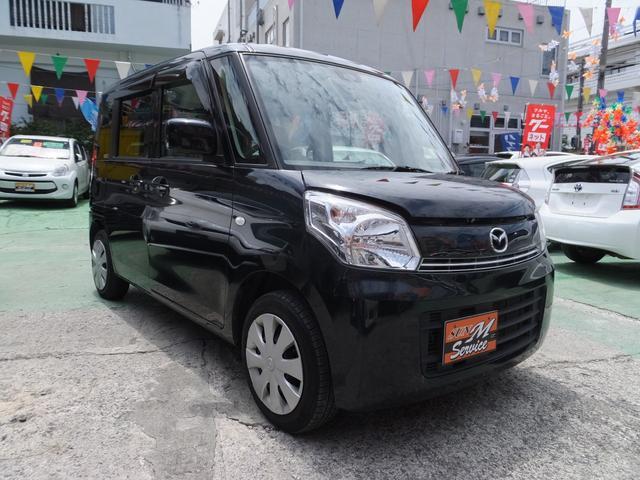 沖縄の中古車 マツダ フレアワゴン 車両価格 69万円 リ済別 2015(平成27)年 5.8万km ブラック