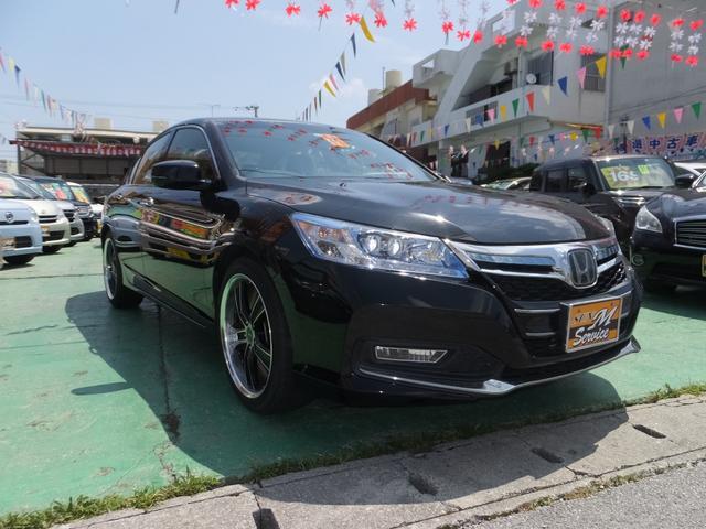 沖縄県の中古車ならアコードハイブリッド EX 社外アルミ パワーシート オートライト