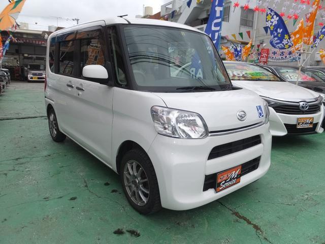 沖縄県の中古車ならタント 福祉車両 スローパー 社外アルミ アイドリングストップ