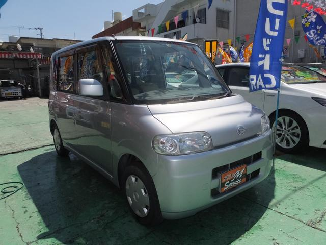 沖縄県の中古車ならタント L 4AT 衝突安全ボディー 盗難防止システム