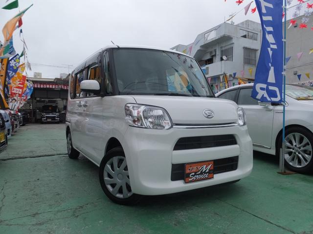 沖縄県の中古車ならタント L スローパー 福祉車両 アイドリングストップ