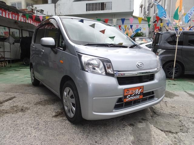 沖縄の中古車 ダイハツ ムーヴ 車両価格 39万円 リ済別 2014(平成26)年 8.7万km シルバー