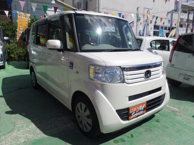 沖縄県の中古車ならN-BOX+ G スロープ 電動固定装置 ドライブレコーダー 横滑り防止