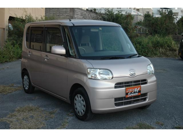 沖縄県の中古車ならタント スローパー リヤシート付仕様 電動固定装置 手すり CVT
