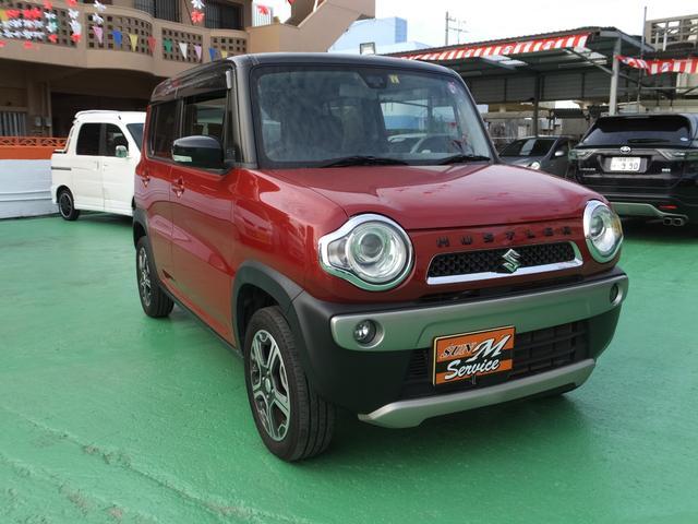 沖縄県の中古車ならハスラー Xターボ シートヒーター 横滑り防止装置 ナビ・TV・DVD