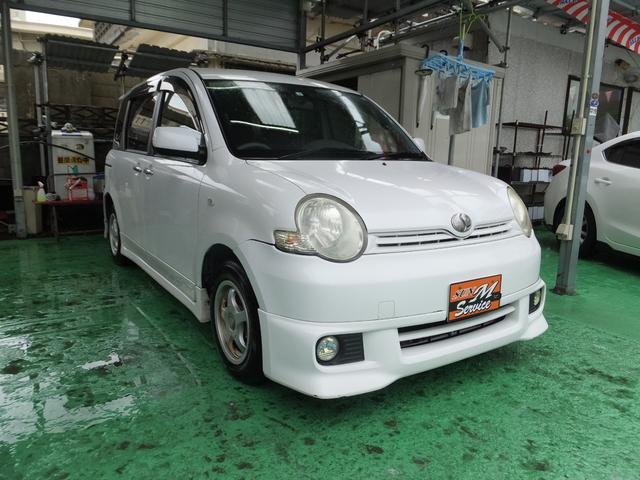 沖縄県の中古車ならシエンタ Xリミテッド 走行64200km HID 社外アルミ