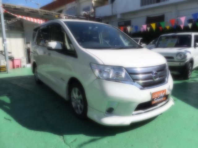 沖縄県の中古車ならセレナ ハイウェイスター S-ハイブリッド Vエアロモード