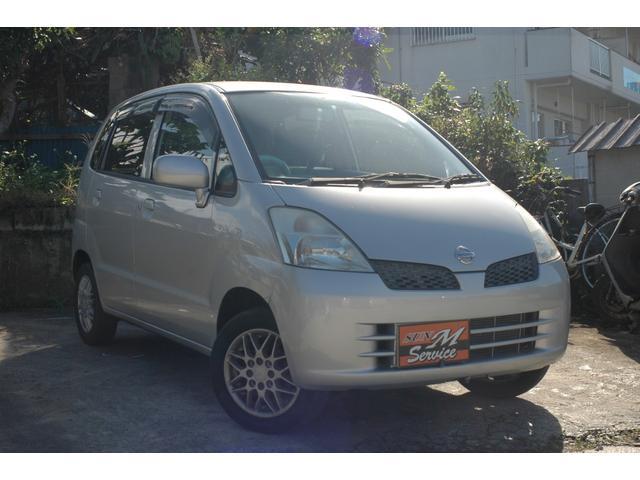 沖縄の中古車 日産 モコ 車両価格 9万円 リ済込 2003(平成15)年 5.7万km シルバー