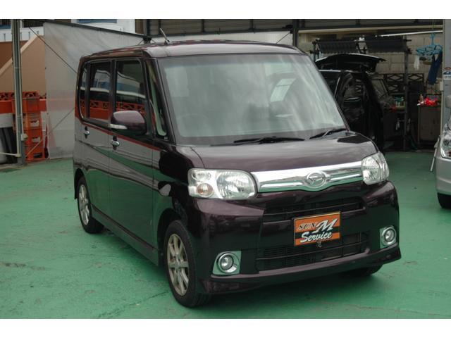 沖縄県の中古車ならタント G ナビ・フルセグ・DVD・BT バックカメラ 電動スライド