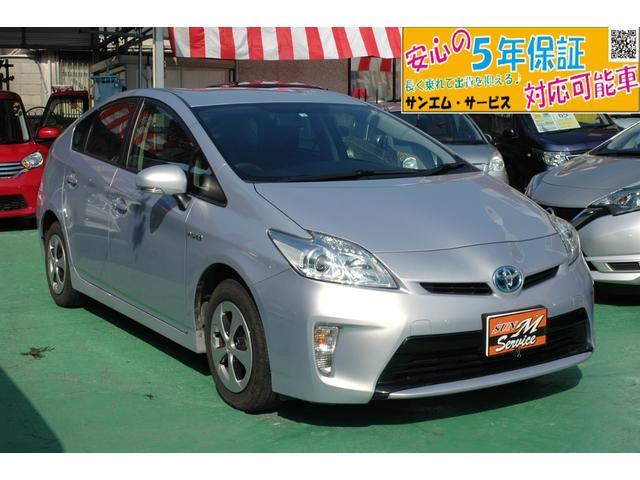 沖縄県の中古車ならプリウス L 走行1.6万km ナビ・TV・DVD・BT 5年保証対象
