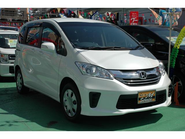 沖縄県の中古車ならフリード X 車いす仕様車 スロープ ウインチ 電動固定装置 5名乗り