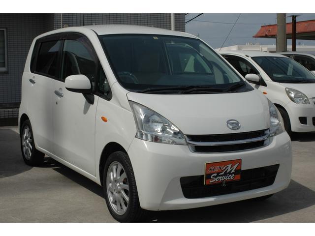 沖縄の中古車 ダイハツ ムーヴ 車両価格 22万円 リ済込 2012(平成24)年 12.0万km ホワイト