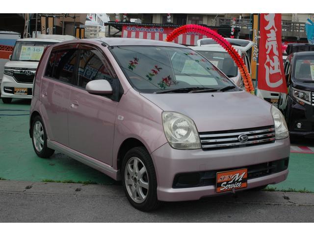 沖縄県の中古車ならミラアヴィ X 現状販売 MOMOステ 純正アルミ キーレス 4速AT