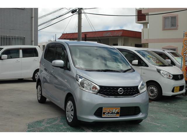 沖縄の中古車 日産 デイズ 車両価格 37万円 リ済込 2015(平成27)年 8.1万km シルバー