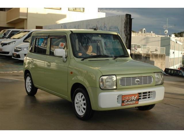 沖縄の中古車 スズキ アルトラパン 車両価格 23万円 リ済別 2006(平成18)年 7.8万km グリーン×ホワイト