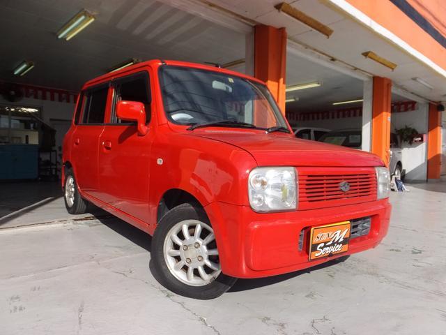 沖縄県沖縄市の中古車ならアルトラパン G 社外オーディオ 衝突安全ボディー 現状販売