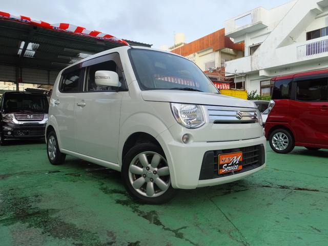 沖縄の中古車 スズキ MRワゴン 車両価格 53万円 リ済込 2012(平成24)年 3.4万km パールホワイト