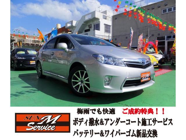 沖縄の中古車 トヨタ SAI 車両価格 85万円 リ済込 2012(平成24)年 8.1万km シルバー