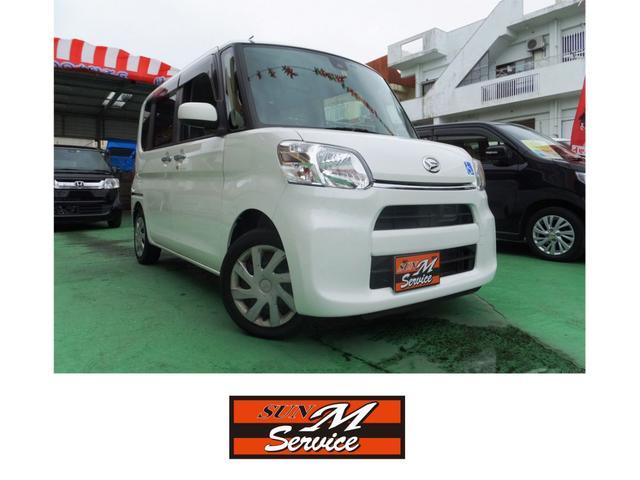 沖縄県の中古車ならタント L SAII スローパー 電動ウインチ レーダーブレーキサポート 誤発進防止
