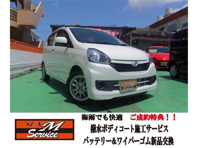 沖縄の中古車 ダイハツ ミライース 車両価格 37万円 リ済込 2016(平成28)年 8.4万km ホワイト