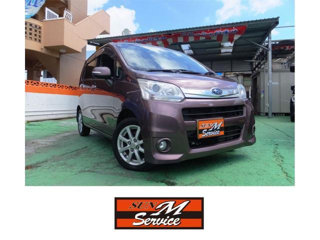 沖縄の中古車 スバル ステラ 車両価格 43万円 リ済込 2012(平成24)年 6.9万km ライトパープルM