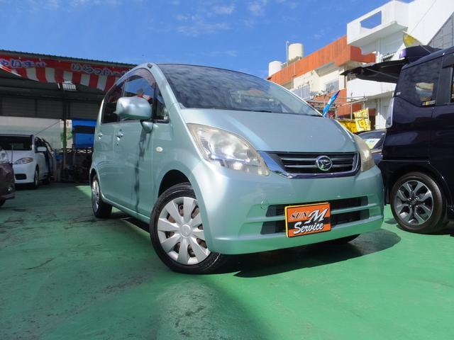 沖縄の中古車 ダイハツ ムーヴ 車両価格 15万円 リ済込 2009(平成21)年 9.9万km ライトブルー