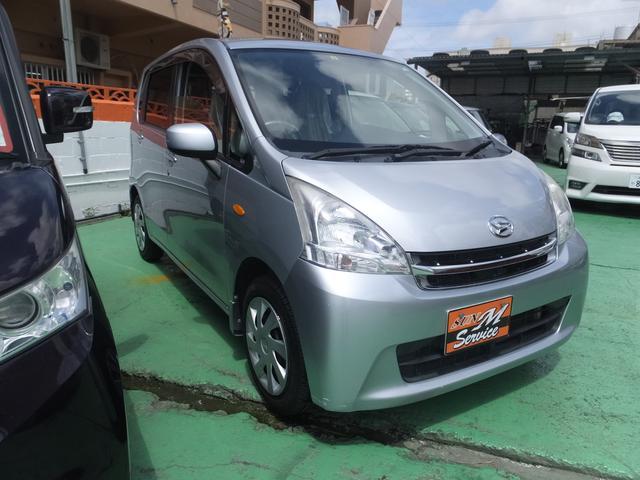 沖縄の中古車 ダイハツ ムーヴ 車両価格 43万円 リ済別 2012(平成24)年 10.3万km シルバー