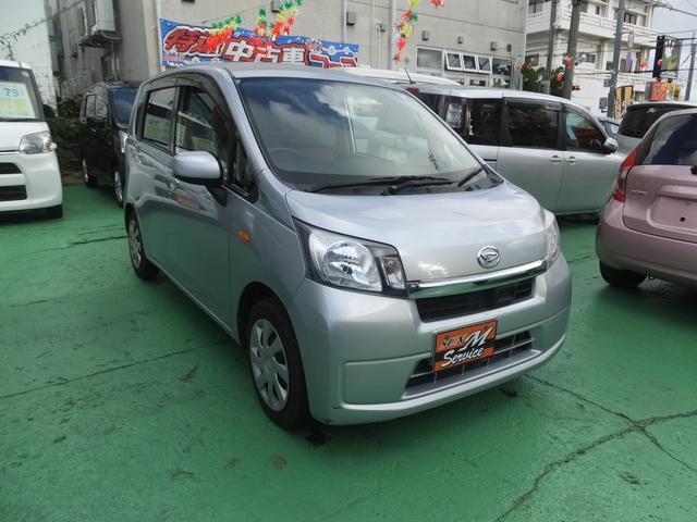沖縄の中古車 ダイハツ ムーヴ 車両価格 42万円 リ済別 2014(平成26)年 10.0万km シルバー