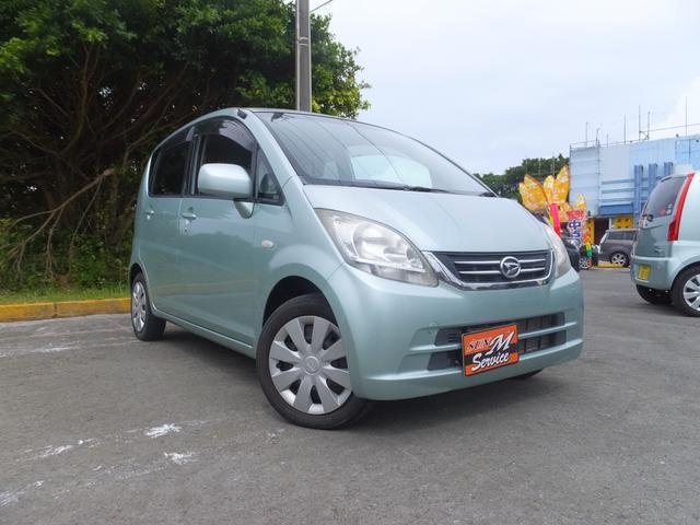 沖縄の中古車 ダイハツ ムーヴ 車両価格 21万円 リ済込 2010(平成22)年 3.4万km ライトブルー