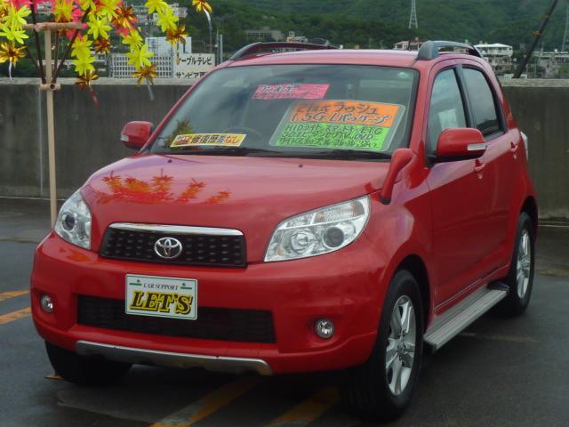 沖縄の中古車 トヨタ ラッシュ 車両価格 69万円 リ済別 平成21年 7.5万km シャイニングレッド