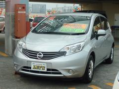 沖縄の中古車 日産 ノート 車両価格 69万円 リ済別 平成25年 5.8万K ブリリアントシルバーM