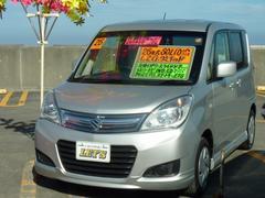 沖縄の中古車 スズキ ソリオ 車両価格 65万円 リ済別 平成26年 6.8万K シルキーシルバーメタリック